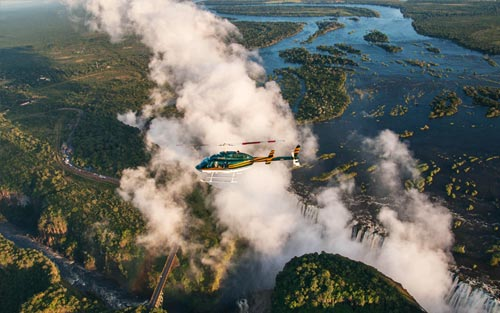 Helicopter Flights Victoria Falls