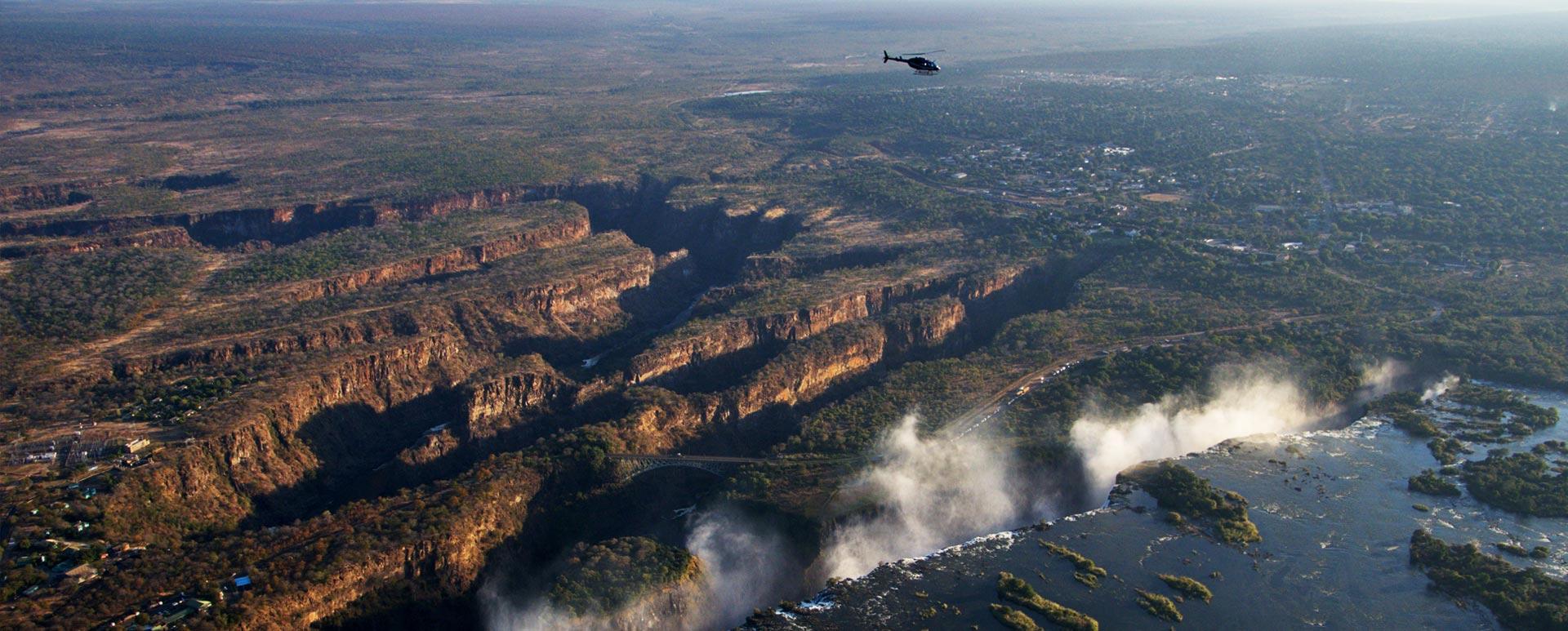 Batoka Gorge Helicopter Flight