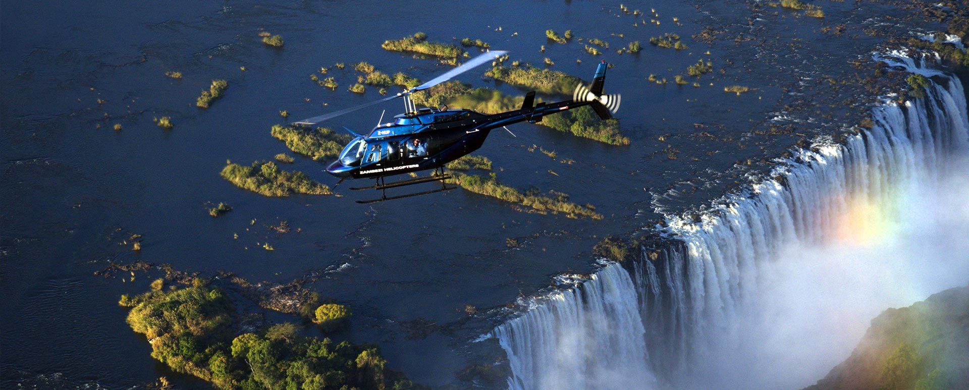 Charter Victoria Falls Helicopter Flight