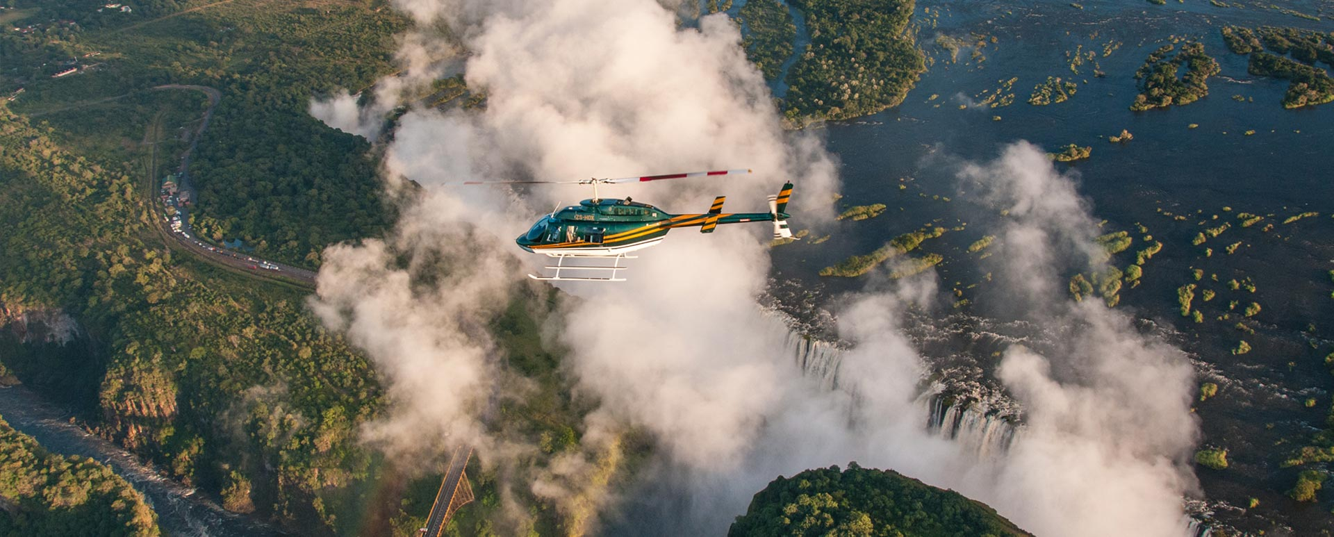 Victoria Falls Helicopter Flight
