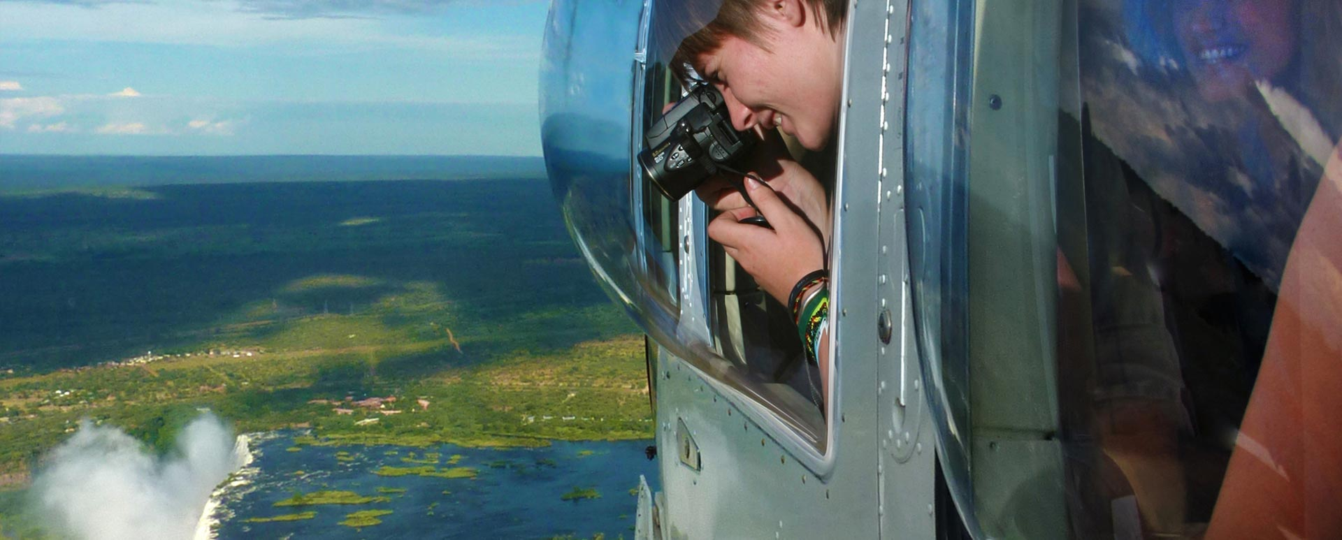 Helicopter Window