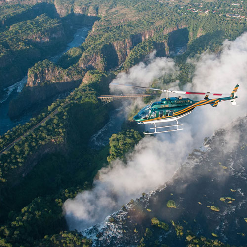 Zambezi Spectacular Helicopter Flight