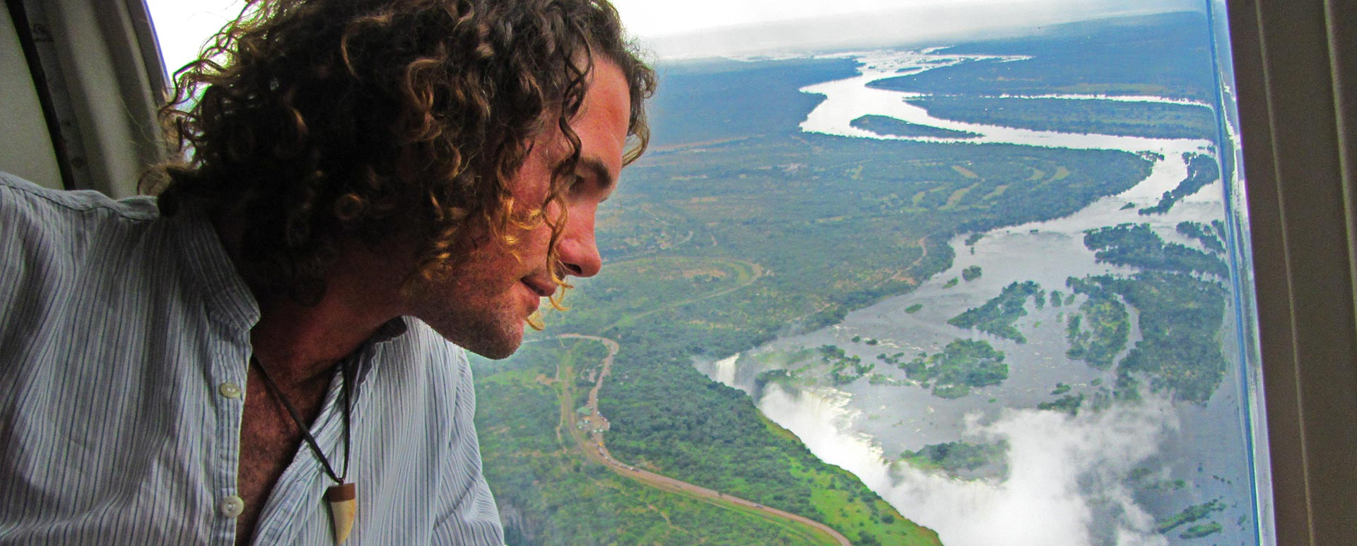 Victoria Falls Helicopter Flight View